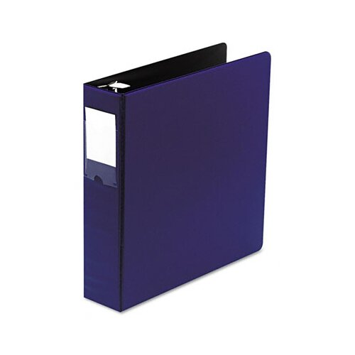 "Wilson Jones Locking No-Gap Round Ring Binder with Label Holder, 2"" Capacity"