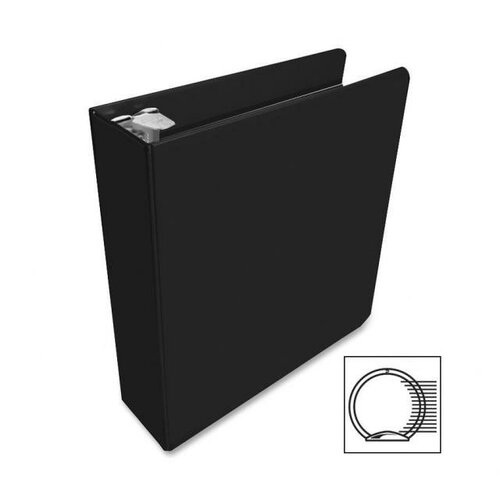 "Wilson Jones Economy Vinyl Round Ring View Binder, 11 X 8-1/2, 2"" Capacity"