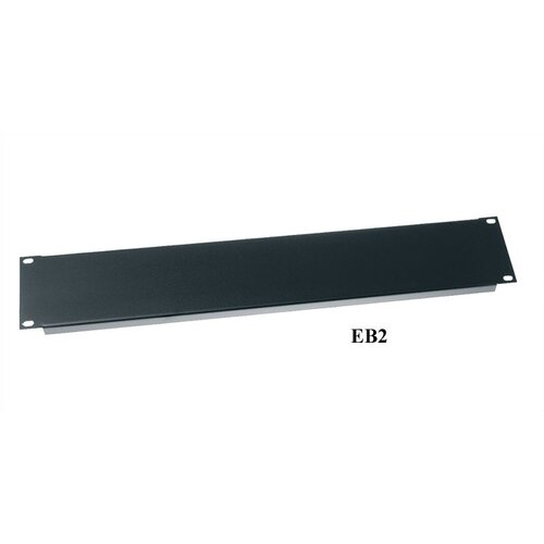 "Middle Atlantic 19"" W Flanged Economical Blank Panel"