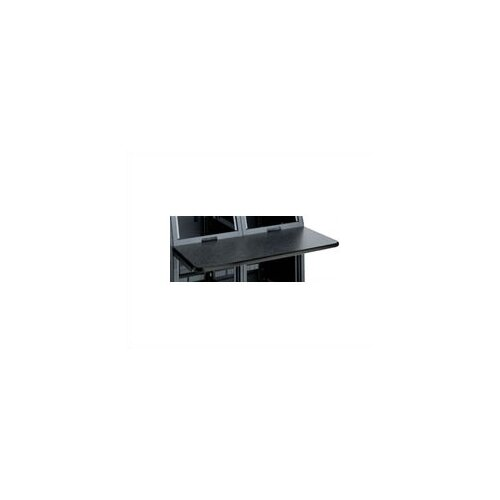 Middle Atlantic 1 Bay Monitoring Console Work Surface, Black T-Mold Trim