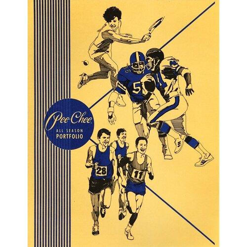 Mead Color Talk Peechee Folder