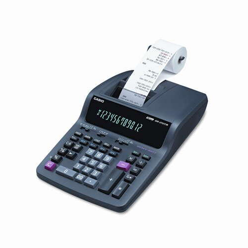 Casio® Desktop Calculator, 12-Digit Digitron