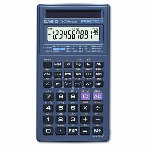 Casio® All-Purpose Scientific Calculator, 10-Digit Lcd