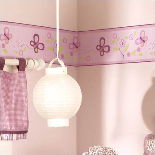 CoCaLo Baby Sugar Plum Wallpaper Border