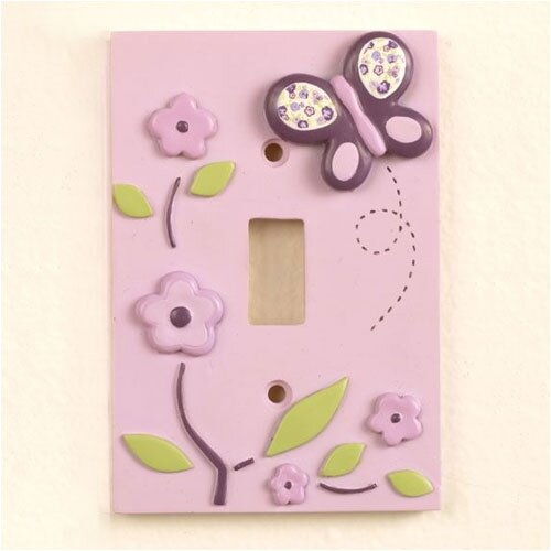 CoCaLo Baby Sugar Plum Switch Plate