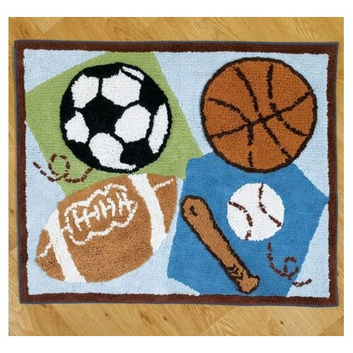 CoCaLo Baby Sports Fan Kids Rug