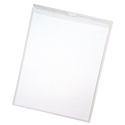 "Anglers Company Ltd. Sturdi-Kleer Vinyl Envelopes w/Flaps, 5""x8"", 10/PK, Clear"