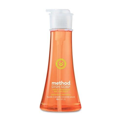 Method® Dish Pump, Clementine, 18 Oz. Pump Bottle