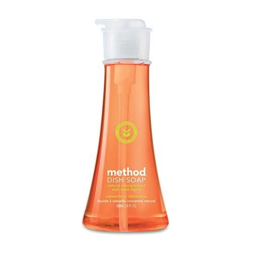Method® Dish Pump, Clementine, 18 Oz. Pump Bottle