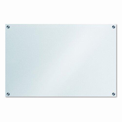 """The Board Dudes Dudes 1'11"""" x 2'11"""" Glass Board"""