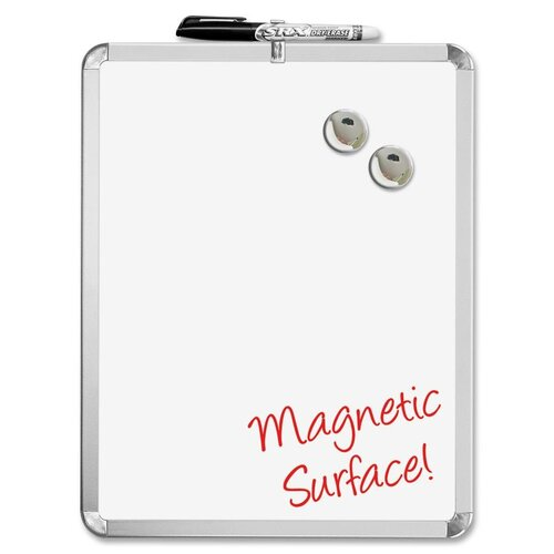 "The Board Dudes Magnetic 1' 2"" x 11"" Whiteboard"
