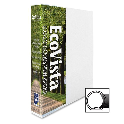 """Aurora Products 1"""" Ecovista Binder"""