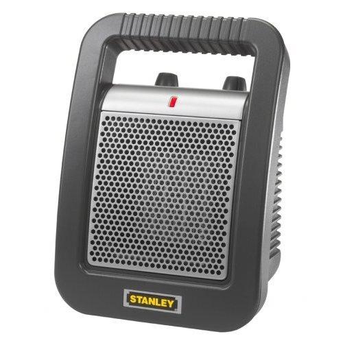 Lasko Stanley 1,500 Watt Ceramic Compact Space Heater with Thermostat