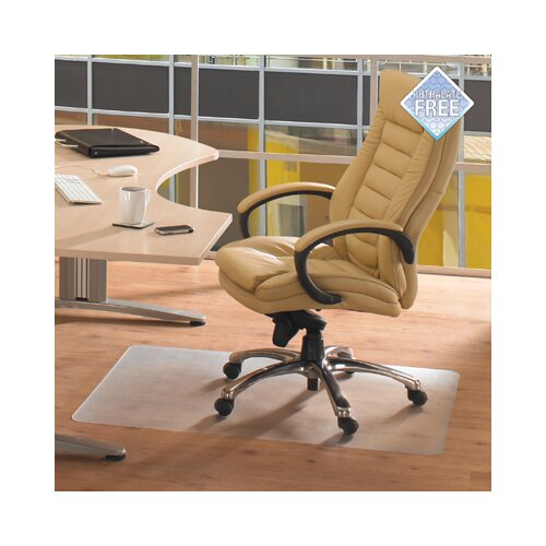 Cleartex Advantagemat Phthalate Free PVC Chair Mat for Hard Floors