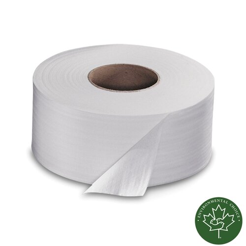 SCA TISSUE NORTH AMERICA LLC Soft 2-Ply Toilet Paper - 1000 Sheets per Roll / 12 Rolls