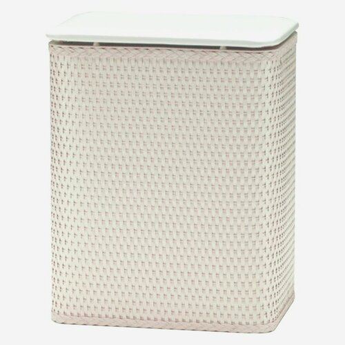 Redmon Wicker Hamper Vinyl Lid
