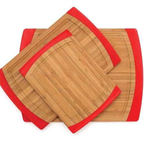 Lipper International Bamboo Non Slip Cutting Board