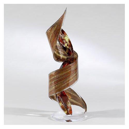 Ovalution Crackled Effect Sculpture