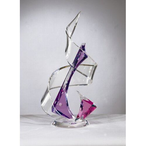 Shahrooz Sculptures and Art Pieces Acrylic Tornado Sculpture
