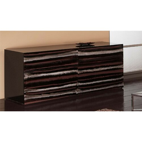 Shahrooz Contempo Acrylic 6 Drawer Dresser
