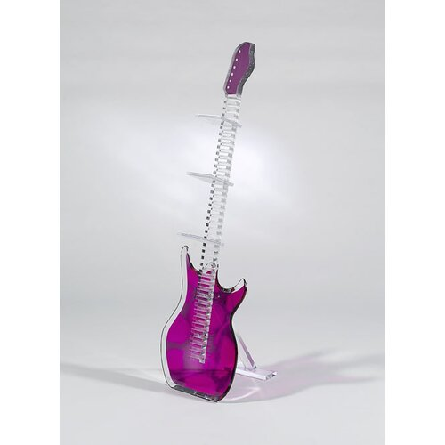 Shahrooz Sculptures and Art Pieces Guitar CD Rack Sculpture