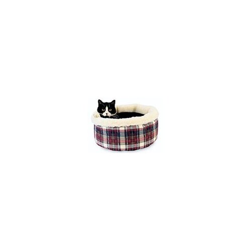 Comfy Curler Cat Bed