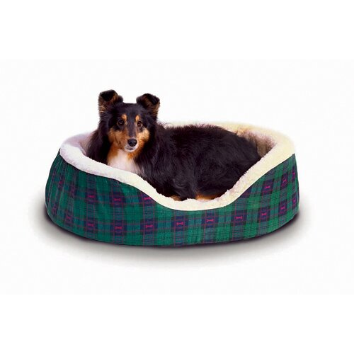 Plaid Nest Dog Bed