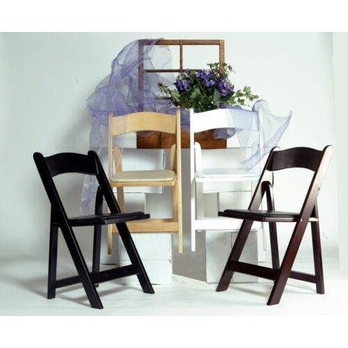 Advanced Seating Wood Folding Chair