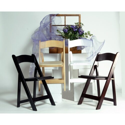 Advanced Seating Wood Folding Chair