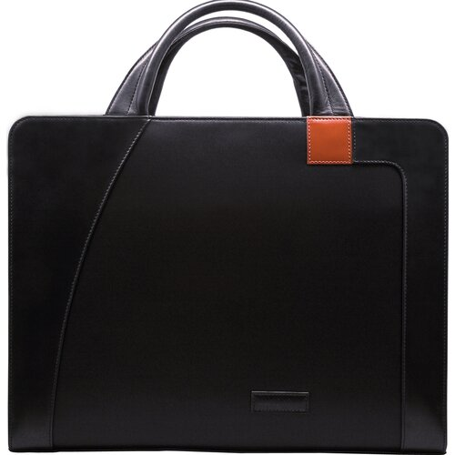 Aaron Irvin Microfiber Business Cases Double Laptop Briefcase