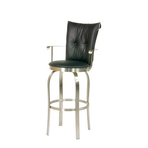 Trica Tuscany II Swivel Bar Stool with Cushion