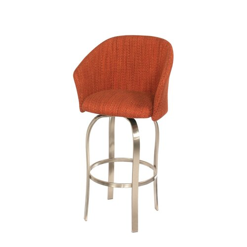 Trica Tiramisu Swivel Bar Stool with Cushion