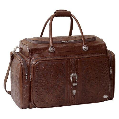 Mahogany Oakleaf Rodeo Bag