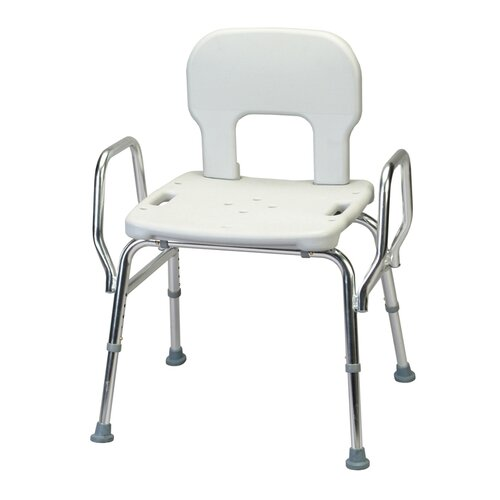Heavy Duty Shower Chair with Back / Arms