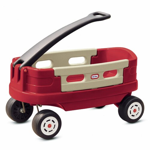 Whether heading to the park or going out for an evening stroll, the Little Tikes Fold 'n Go Wagon is the perfect wagon for the whole family!