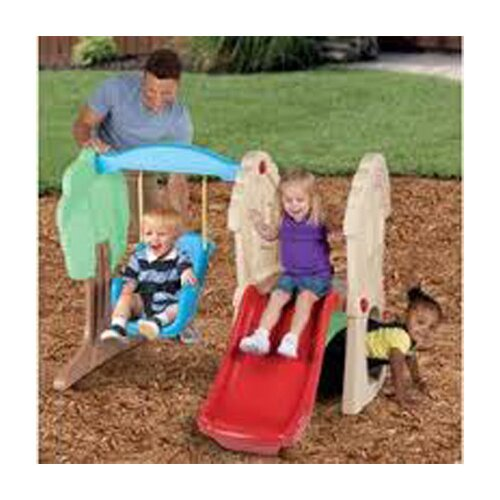 Little Tikes Hide and Seek Climber Swing Set