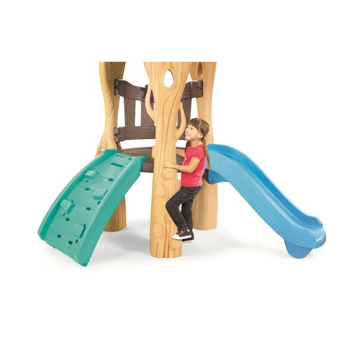 little tikes clubhouse swing set instructions