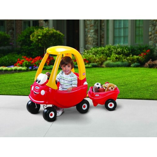 Little Tikes Cozy Coupe Push Car with Trailer & Reviews ...