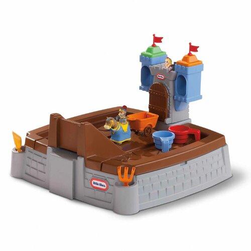 Little Tikes Castle Adventures Rectangular Sandbox