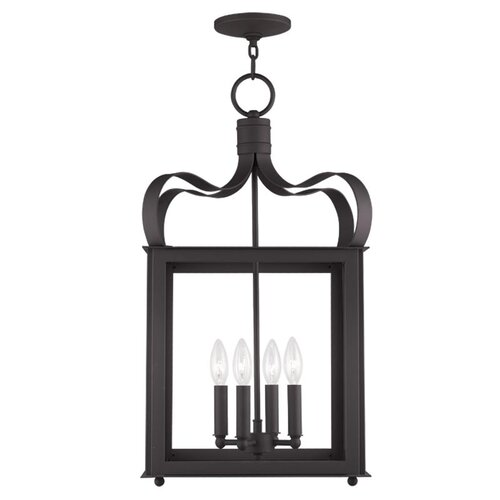 Garfield 4 Light Foyer Pendant