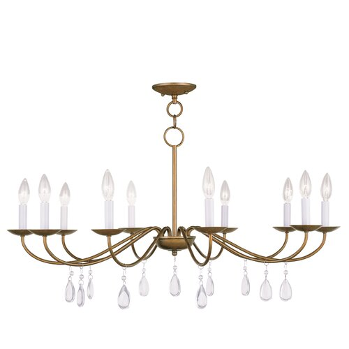 Mercer 10 Light Candle Chandelier