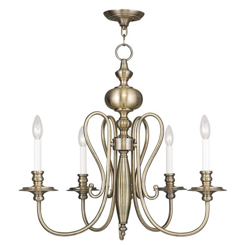 Caldwell 4 Light Candle Chandelier