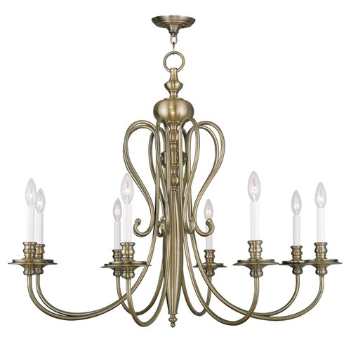 Caldwell 8 Light Candle Chandelier