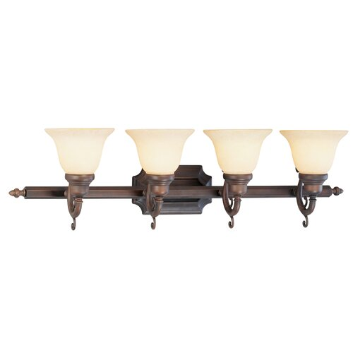 Livex Lighting French Regency 4 Light Vanity Light