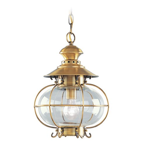 Livex Lighting Harbor 1 Light Outdoor Hanging Lantern