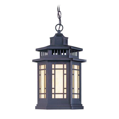 Livex Lighting Mirror Lake 1 Light Outdoor Hanging Lantern