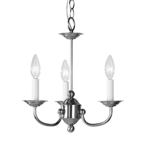 Livex Lighting 3 Light Mini Chandelier
