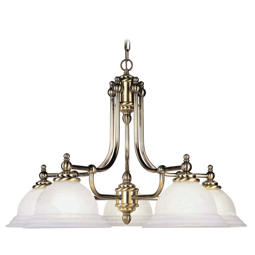 Livex Lighting North Port 5 Light Chandelier