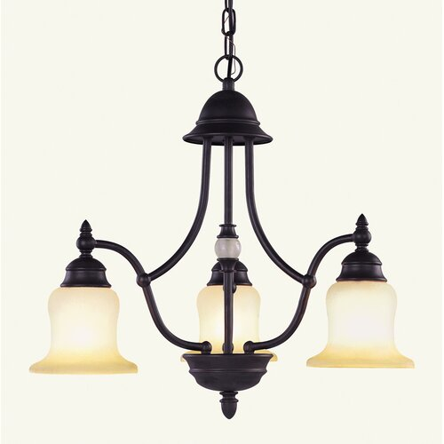 Belle Meade 3 Light Chandelier