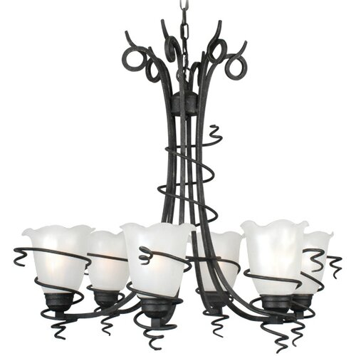 Livex Lighting Empire 6 Light Chandelier